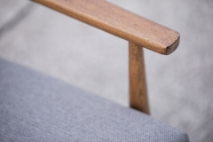 Fotel typ 300-190, Hanna Lis, niebieski