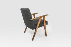 Fotel tapicerowany, lata 60. XX w