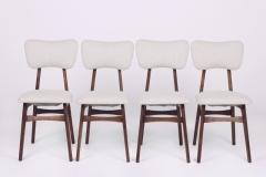 Komplet 4 krzeseł, lata 60. XX w.
