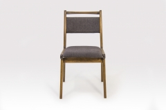 """Krzesło tapicerowane typu """"JAR"""", Fabryka Mebli Giętych w Jasienicy."""