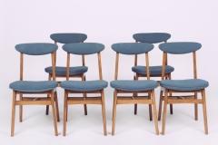 Komplet 6 krzeseł, typ 200-190, Rajmund Teofil Hałas