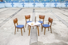 Krzesła Thonet, lata 60 XX w.