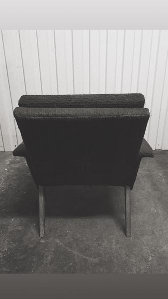 Fotel tapicerowany, Czechy, lata 60. - 2 szt