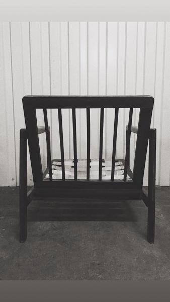 Fotel proj. Z. Bączyk, Swarzędzka Fabryki Mebli - 1 szt