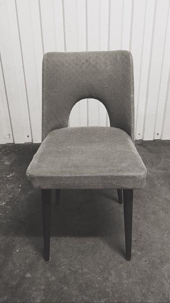 Krzesło typ 1020, Słupskie Fabryki Mebli - 4 szt