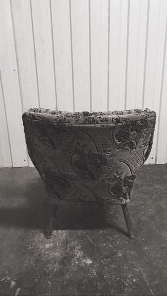 Fotel klubowy, lata 60. - 1 szt