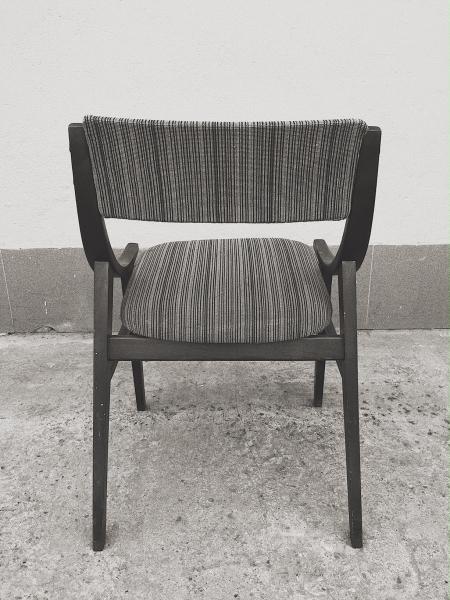 Para krzeseł Skoczek, proj. J. Kędziorek, Zamojskie Fabryki Mebli, Polska, lata 70. - 3 szt.